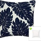 Amazon.com : FBTS Prime Outdoor Pillows with Insert Navy Patio Accent Throw Pillows 18x18 Inches Square Decorative Patio Cushions for Couch Bed Sofa Patio Furniture : Garden & Outdoor