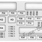 Fuse Box Diagram Cadillac XTS (2013-2017)