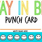 Parenting Punch Cards