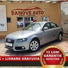 Audi A4 Revizie + Livrare GRATUITE, Garantie 12 Luni, RATE FIXE, 1800 Benzina, 160Cp, 2009, Pret 7999€ – Danove Interauto