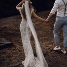 EVELINE Intricate Full Lace Wedding Dress   Etsy