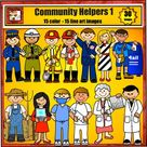 Community Helpers Art