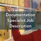 Documentation Specialist Job Description