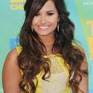 Demi Lovato in Yellow Dress