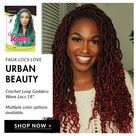 Urban beauty faux locs sold at imarnie.com #lovehair #fauxlocs #hairdressers