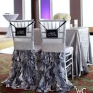 Black Silver Wedding