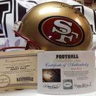Jerry Rice Autographed 49ers Proline Helmet