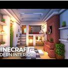 minecraft modern interior