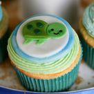 Sea Turtle Cupcakes