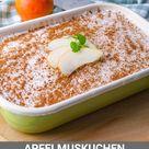 Schneller Apfelmuskuchen - Gesundes Kuchen Rezept ohne Zucker