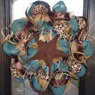 Turquoise Wreath