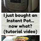 I bought an Instant Pot...what do I do now? (video tutorial) - 365 Days of Slow Cooking and Pressure Cooking