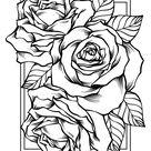 Bonne fête des mères, carte bouquet de roses - Artherapie.ca