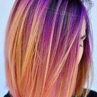 55 Glorious Sunset Hair Color Ideas for True Romantics   Glowsly