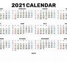 Calendar Weeks 2021 Excel - Calendar Inspiration Design