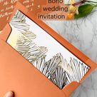 Boho  wedding  invitation 🧡