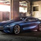 2017 BMW 8 Series Concept   Front Three Quarter