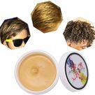 Hair Wax Colour Temporary DIY Washable-Gold