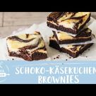 Schoko-Käsekuchen-Brownies – himmlisch lecker & super einfach | Einfach Backen