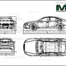 Audi S6 2006   Disegno 2D   30144   Model COPY   Italiano