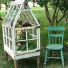 Window of Opportunity: Old Salvaged Windows Get New Life As Unique Decor