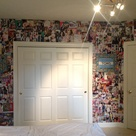Magazine Collage Walls
