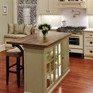 How to Build a Kitchen Island from a Cabinet   Thistlewood Farms