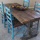 Rustic Buffet Tables