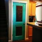 Painted Pantry Doors