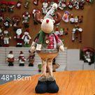 Generico Muñecos de Navidad decoración de árbol adorno de Año Reno