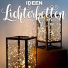 9 geniale Lichterketten-Weihnachtsdeko-Ideen von Pinterest