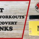 Best Pre Workout & Recovery Drinks
