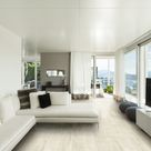 Wood and parquet effect ceramic and porcelain tiles. Color: beige (white wood). 7.87