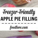 Freezer Friendly Apple Pie Filling