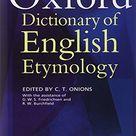 The Oxford Dictionary of English Etymology (Hardback): New Hardback (1966) | Book Depository International