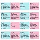 30 Tage Bauch Challenge – der kostenlose Bauchmuskel Plan