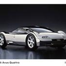 50 Concept Cars   LA Times Magazine  1991 Audi Avus Quattro