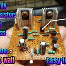 Diy N channel amplifier driver circuit board
