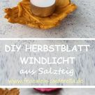DIY: HERBST WINDLICHT AUS SALZTEIG