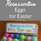 Christian Easter Craft: Resurrection Eggs