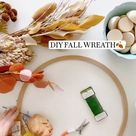 DIY FALL WREATH🍂