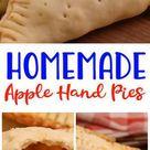 Easy Apple Hand Pies – Best Homemade Apple Pie Recipe – {Easy} Recipes – Snacks – Desserts – Breakfast – Quick – Simple