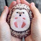 Hedgehog  Embroidery Kit | Etsy