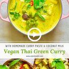 Creamy Vegan Thai Green Curry