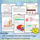 Human Anatomy Interactive Notebook Mega Bundle