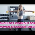 Get Sexy Shoulders with These 3 Shoulder Workouts for Women