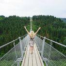 The Geierlay, the longest suspension bridge in Germany