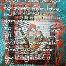 Heart Health Remain Open   Framed original Heart Open artwork, 11 x 14 inch