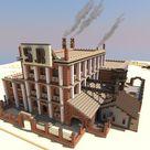 The Weird West Town of Gomorra Minecraft Map
