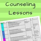 Cheat Sheet for School Counseling Lessons - Entire Elementary Planning